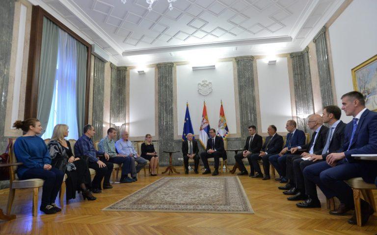Prijem kod predsednika Srbije povodom Međunarodnog dana slepih